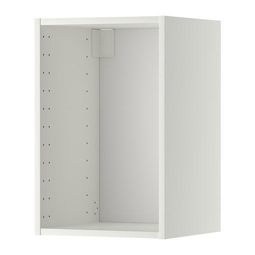 МЕТОД Каркас навесного шкафа - белый, 40x37x60 см