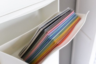 Another idea is to store documents in a Shoe cabinet TRONES