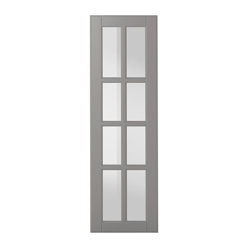 БУДБИН Стеклянная дверь - 30x100 см