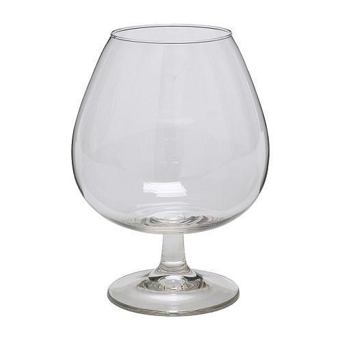 OPTIMAL brandy clear glass