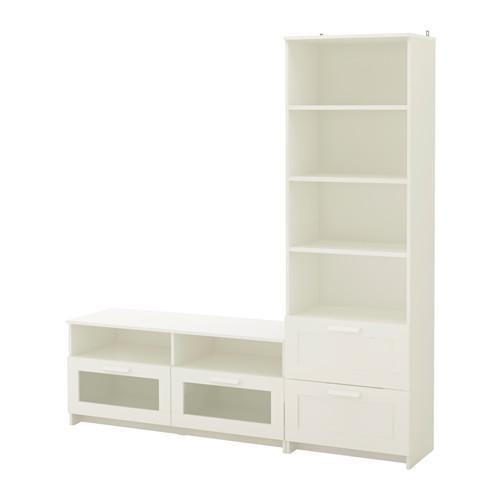 Ikea schrank brimnes  BRIMNES Schrank für TV, Kombination - weiß (391.843.43 ...