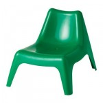 BUNSЁ kindergarten chair - Green