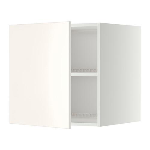 МЕТОД Верх шкаф на холодильн/морозильн - 60x60 см, Веддинге белый, белый