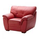 БЬЁРБУ Кресло - красный