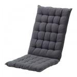 ХОЛЛО Подушка спинная/на сиденье - черный
