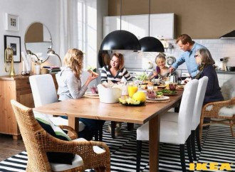 Interiér jídelna IKEA