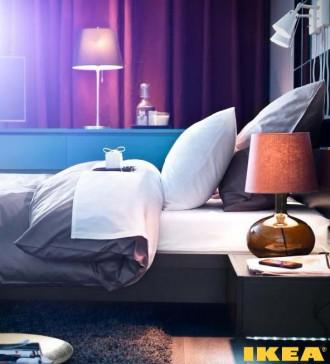 Интерьер спальни от ИКЕА