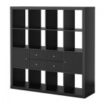 EXPEDIT Combe to be filed with the door / crate - black-brown / black
