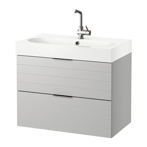 GODMORGON / BROVIKEN Sink case with 2 box