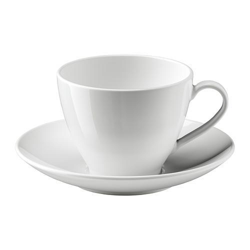 ВЭРДЕРА Чашка чайная с блюдцем