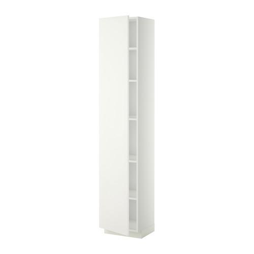 Method Hoge Kast Met Planken Wit Haggebi Wit 40x37x200 Cm