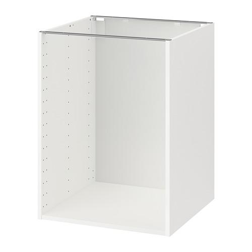 МЕТОД Каркас напольного шкафа - 60x60x80 см, белый