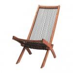 BROMMÖ chaise lounge tuin bruine vlek