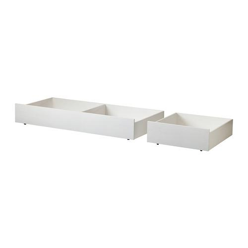 Brusali Bed 2 Pcs White 502 527 31 Reviews Price Where To Buy