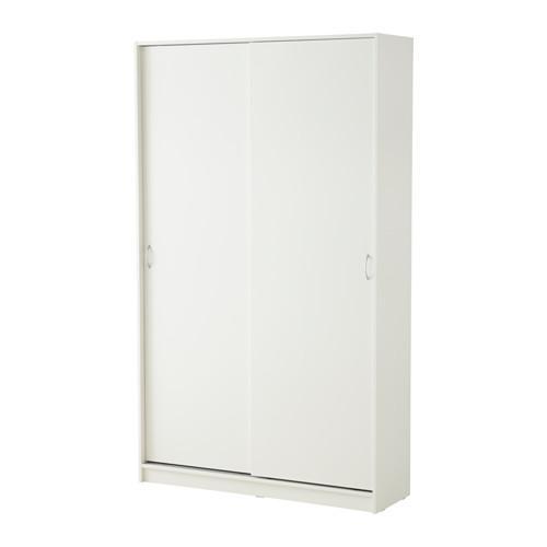 ТОДАЛЕН Гардероб с раздвижными дверьми - белый