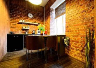 Loft-кухня родом из Санкт-Петербурга