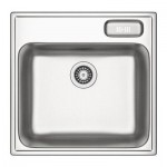 BUHOLMEN Sink single flush - 56x55 cm