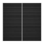 ЭФФЕКТИВ Дверь - глянцевый черный/с рисунком