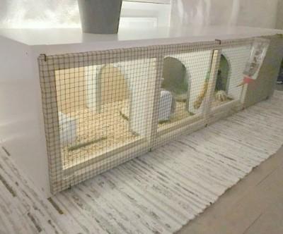 Дом для кролика из КАЛЛАКС