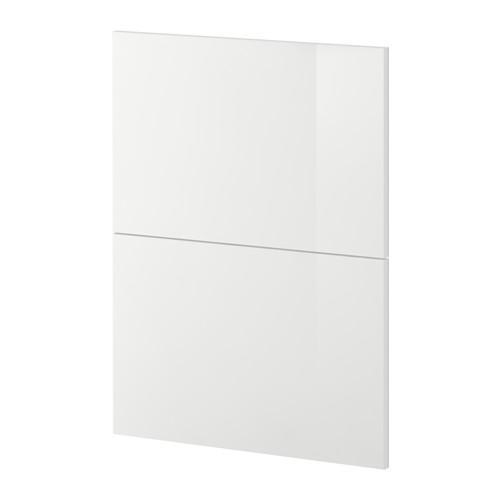 МЕТОД 2 фронтальн панели д/посудом машины - Рингульт глянцевый белый,
