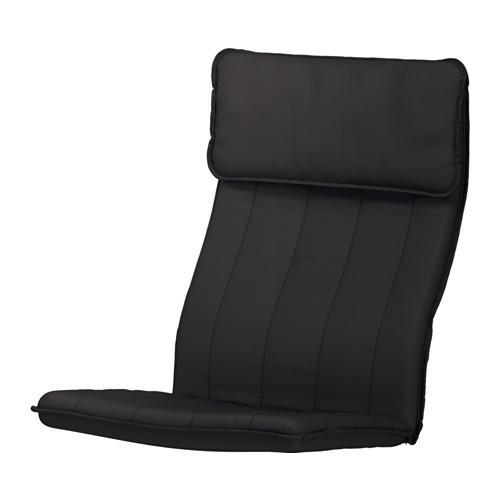 ПОЭНГ Подушка-сиденье на кресло - Ранста черный
