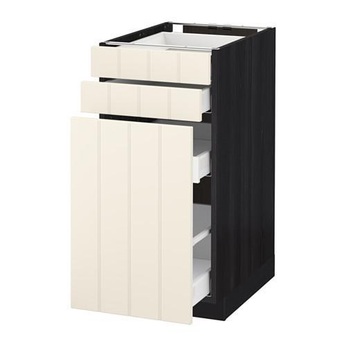 МЕТОД / МАКСИМЕРА Нплн шк с вдв мдл/2 фрнт - 40x60 см, Хитарп белый с оттенком, под дерево черный
