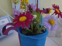 Flower pot of STIKKAT basket