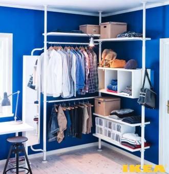 Interiør dressing room