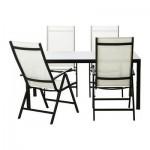 AMMERE 4 bord og stoler