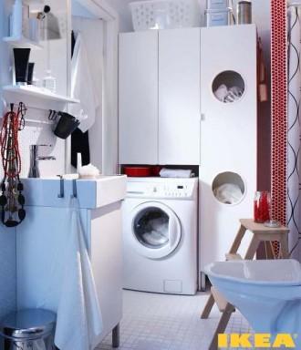 Wnętrze łazienka IKEA
