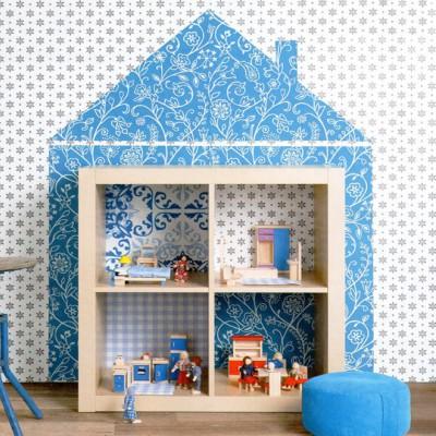 Кукольный домик из стеллажа ИКЕА КАЛЛАКС
