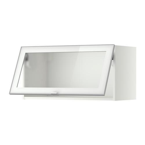 Metodo cabina armadio horiz con porta in vetro bianco - Porta smalti ikea ...