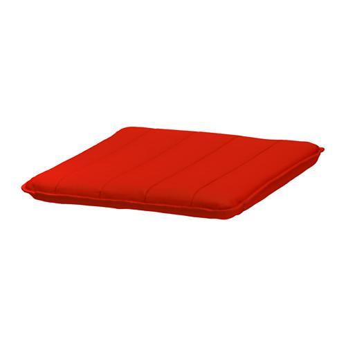 ПОЭНГ Подушка-сиденье на табурет для ног - Ранста красный, Ранста красный
