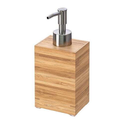 Distributore di sapone DRAGAN bambù bambù 16 cm