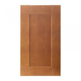 EDEL Pintu kabinet sudut melengkung adalah coklat klasik, 32x70 cm