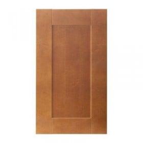 Edel gångjärnsdörr hörnskåp - klassisk brun, 32x70 cm