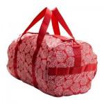 KNELLA Sporttasche - rot / weiß