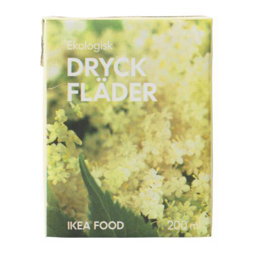DRYCK FLÄDER Напиток из цветов бузины