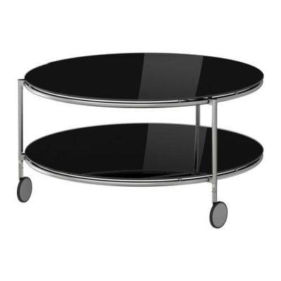Strind Coffee Table Black Nickel 75 Cm 40157107 Reviews Price Comparisons