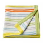 DRÖMLAND multi-colored baby blanket