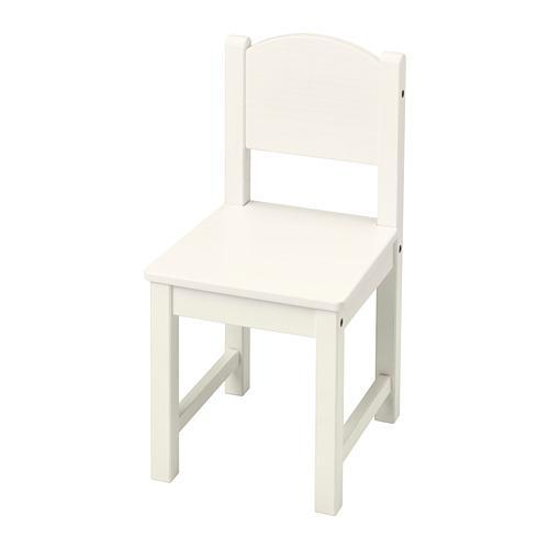 KRITTER Barnstol, vit IKEA