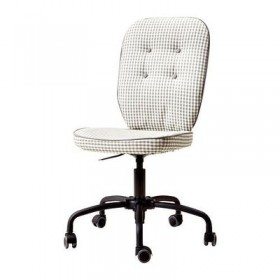 LILLHOYDEN office chair - gray patterned