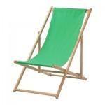 МЮСИНГСО Пляжный стул - , складной зеленый
