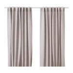 AINA curtains, 2 pieces - unbleached