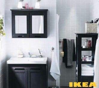 Інтер'єр ванної кімнати ІКЕА