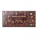 CHOKLAD MÖRK 70% Темный шоколад 70%