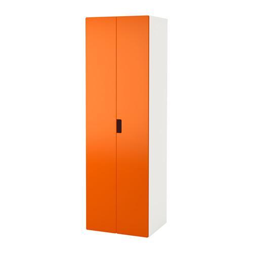 Stuva armadio bianco arancione - Armadio bianco ikea ...