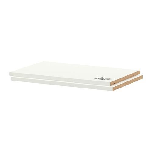 УТРУСТА Полка - 60x37 см, белый
