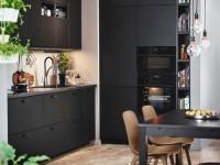 Kitchen in black