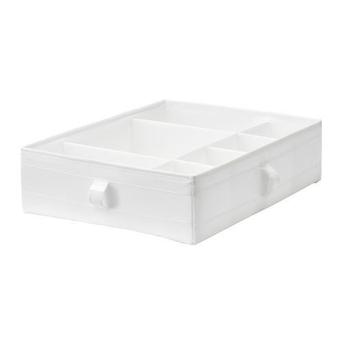СКУББ Ящик с отделениями - белый